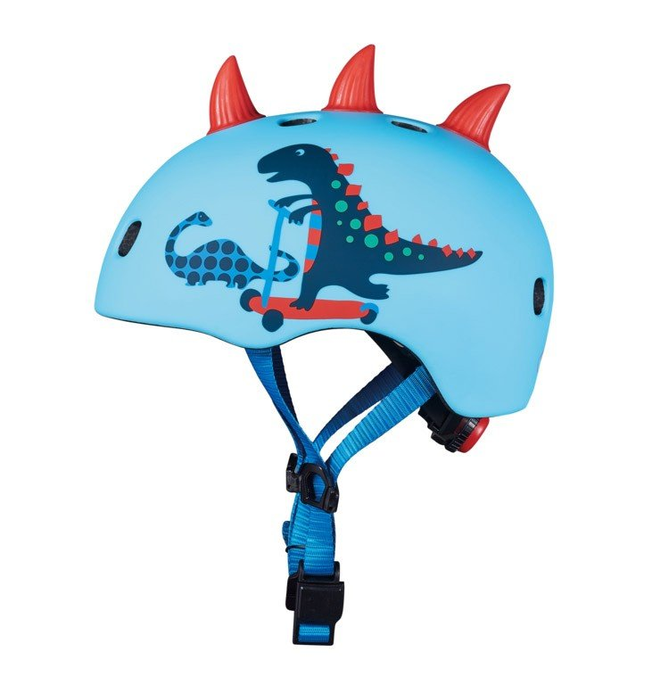 /Accessoires: Micro Mobility micro Helm Scootersaurus 3D